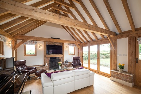 Oak Annexe Living Room