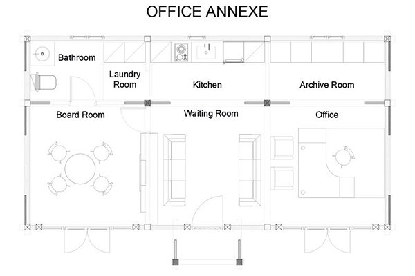 Office Annexe Layout
